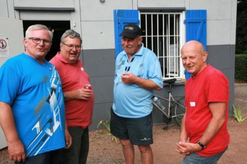 2017-07-22 - Auberge espagnole - Marcel, Daniel, Alain & Gérard